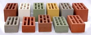 Фото кирпича и блоков цветных