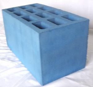 Фото синего блока