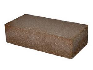 Фото гиперпрессованного кирпича коричневого