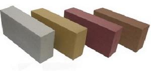 Фото силикатного кирпича гиперпрессованного серого, желтого, красного и коричневого